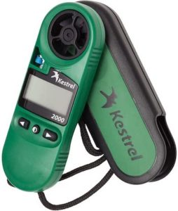 imagen de la estacion meteorologica portatil kestrel 2000